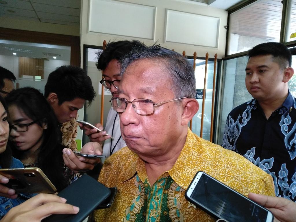 Menko Perekonomian Darmin Nasution (Foto: Medcom.id/Desi Angriani)