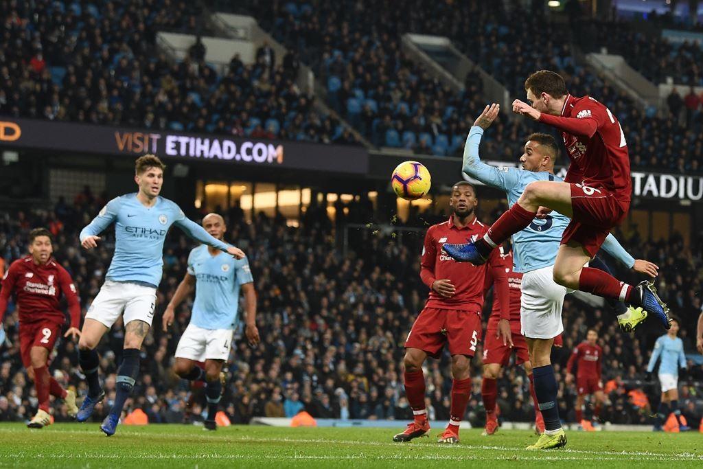 Manchester City v Liverpool. (Foto: AFP/Paul Ellis)