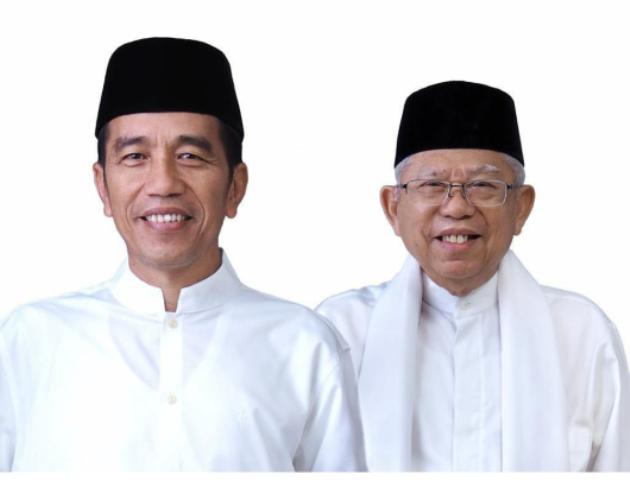 Pasangan Calon Presiden dan Wakil Presiden nomor urut 01 Joko Widodo dan Ma'ruf Amin--Foto:Istimewa