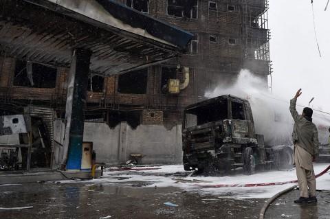 Kebakaran SPBU di Afghanistan Tewaskan 3 Orang