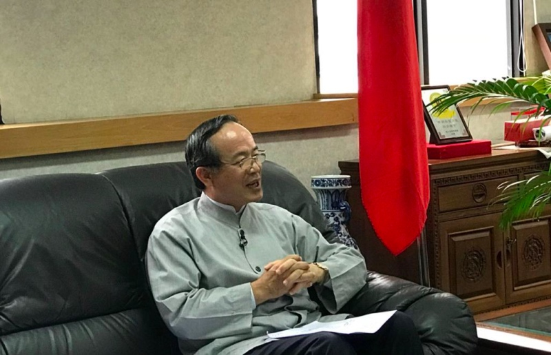 Kepala Taipei Economic and Trade Office (TETO) John Chen. (Foto: Fajar Nugraha/Medcom.id).