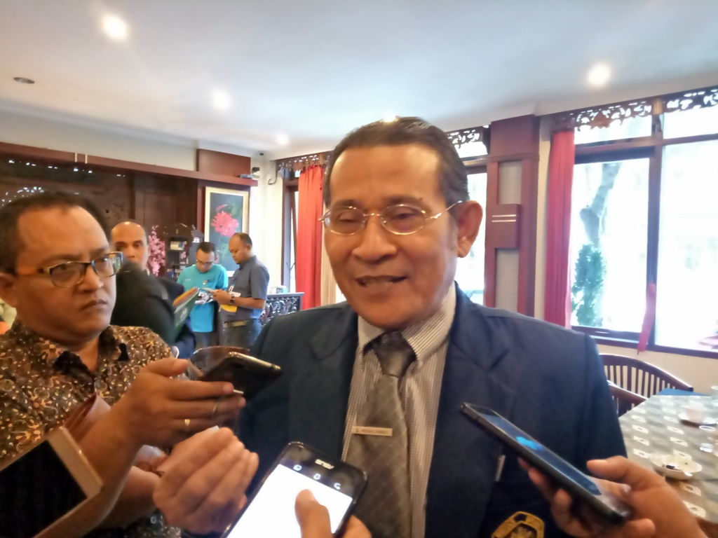 Rektor Universitas Brawijaya (UB), Malang, Nuhfil Hanani, Medcom.id/Daviq Umar Al Faruq.