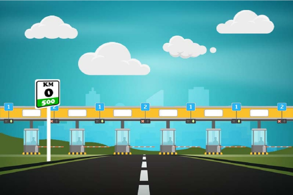 Ilustrasi jalan raya, Medcom.id - M Rizal