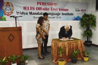 WMLI Jadi Pusat Tes Resmi IELTS di Jawa Timur