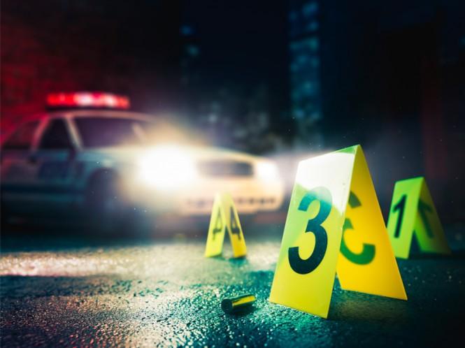 Polisi memeriksa tempat kejadian perkara. Foto: Medcom.id/Mohammad Rizal.