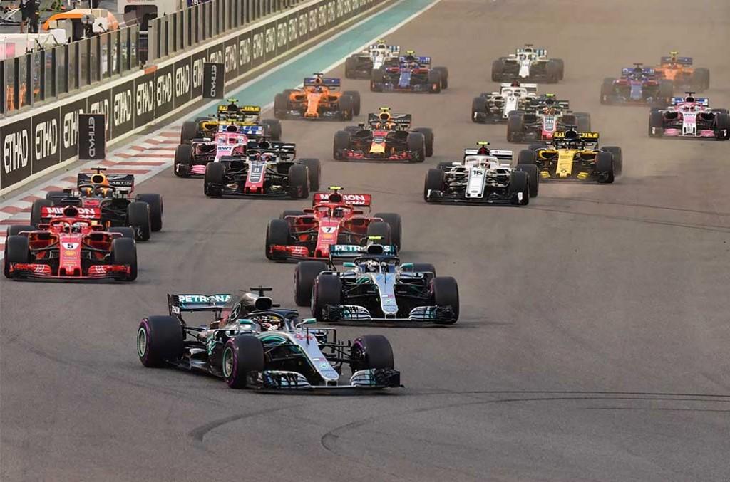 Regulasi balap Formula One tahun 2019 mengalami perubahan kecil, khususnya di sektor paket aerodinamika. Andrej Isakovic / AFP