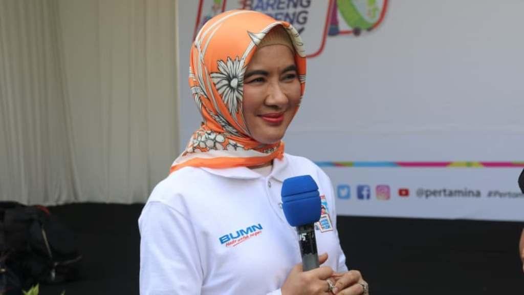 Direktur Utama Pertamina Nicke Widyawati (Foto: Setkab)