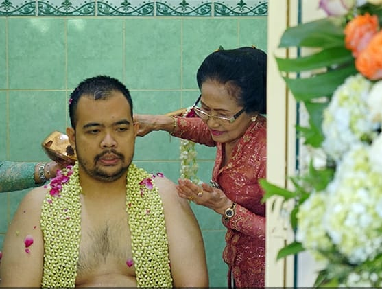 Prosesi siraman calon pengantin putra Kanjeng Gusti Adipati Arya (KGPAA) Paku Alam (PA) X, Bendara Pangeran Haryo (BPH) Kusumo Bimantoro. Istimewa/Pura Pakualaman