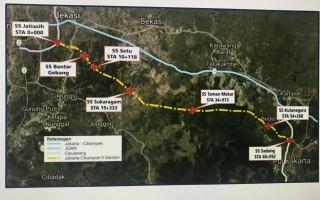 Pembebasan Lahan Jalan Tol Japek II Selatan Dikebut