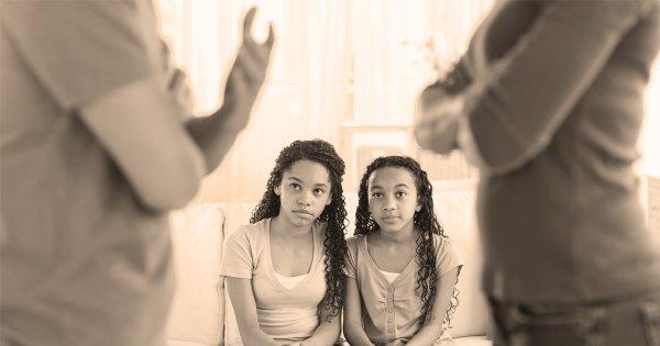 Bertengkar di Depan Anak Lebih Baik daripada Menahan Emosi (Foto: gettyimages)