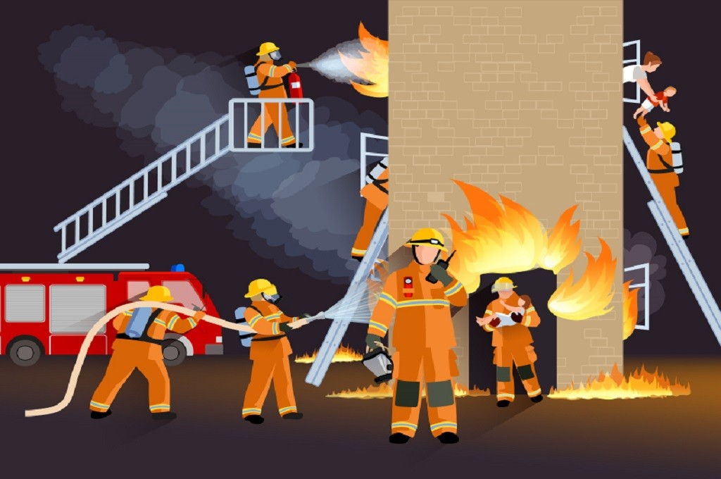 Ilustrasi kebakaran. (Foto: Medcom.id)
