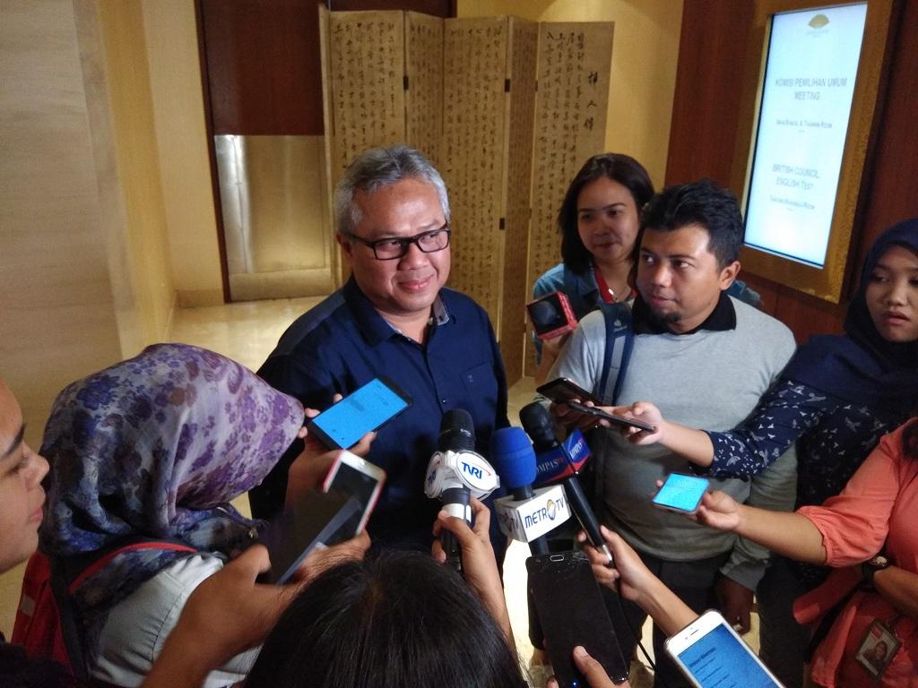 Ketua KPU Arief Budiman - Meddcom.id/Fachri Audhia Hafiez.