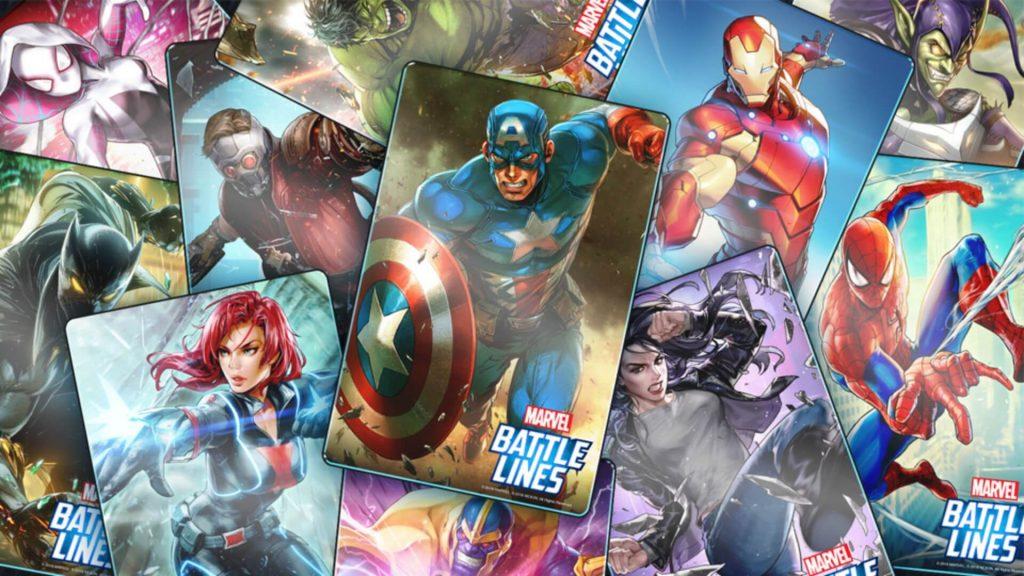 Marvel Battle Lines adalah salah satu game kartu dari Marvel.
