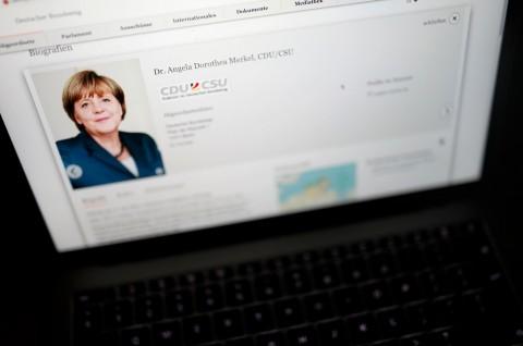 Data Ratusan Politikus Jerman Dicuri, Termasuk Merkel