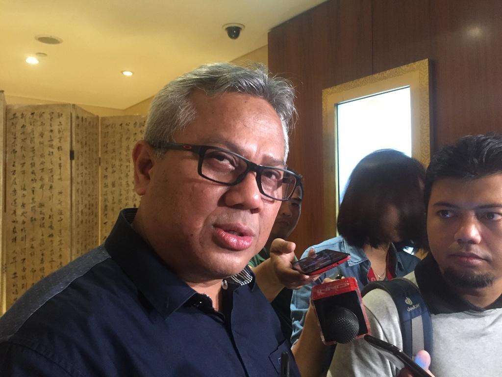Ketua Komisi Pemilihan Umum (KPU) Arif Budiman - Medcom.id/Jessica Wulandari.