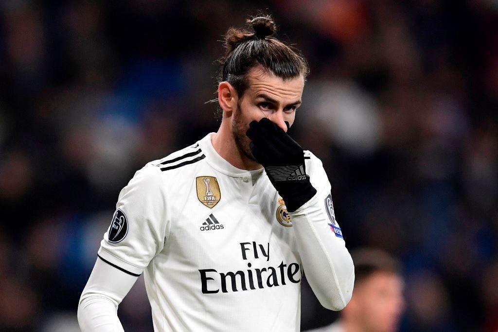 Penyerang Real Madrid, Gareth Bale. (JAVIER SORIANO / AFP)