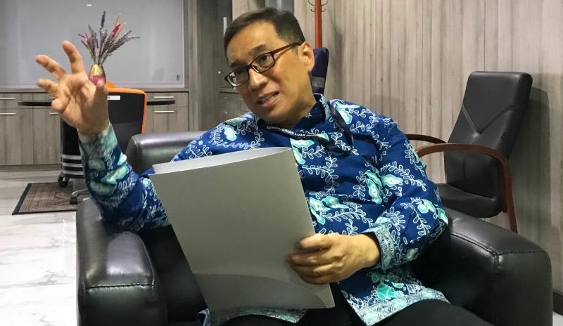 Direktur Jenderal Kerja Sama Multilateral Kementerian Luar Negeri Republik Indonesia, Febrian Alphyanto Ruddyard. (Foto: Fajar Nugraha/Medcom.id).