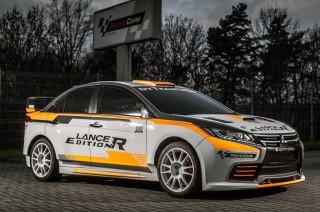 Mitsubishi Lancer Evo XI Bergaya Rally Look ala Dytko Sport