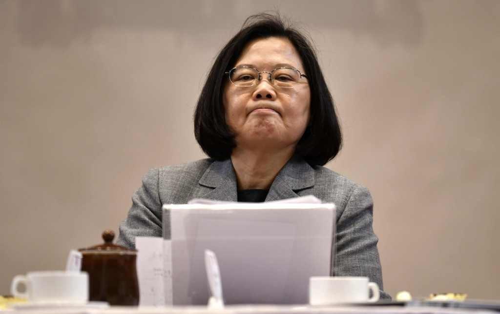 Presiden Taiwan Tsai Ing-Wen. AFP/Sam Yeh.
