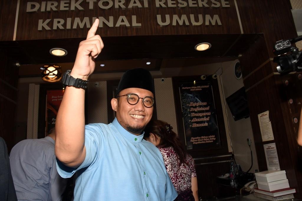 Mantan Ketua Umum PP Pemuda Muhammadiyah Dahnil Anzar Simanjuntak. ANT/Indrianto Eko.