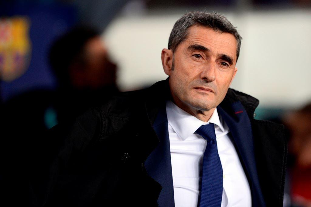 Ernesto Valverde membuka peluang Barcelona belanja di Januari (AFP/Josep Lago)
