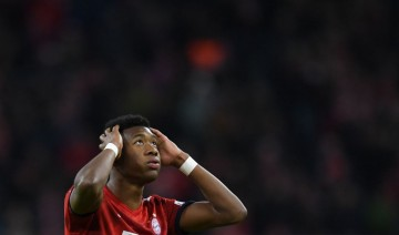 Pemain Bayern Munchen, David Alaba (AFP/Christof Stache)