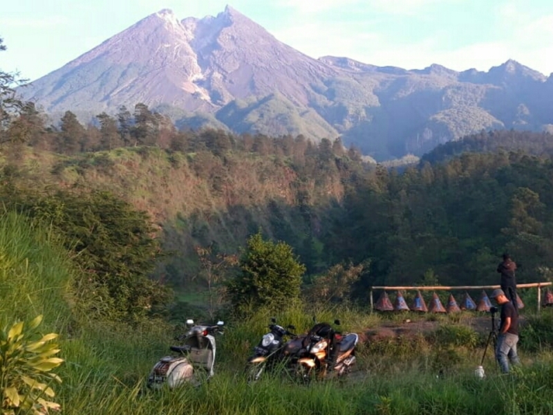 Gunung Merapi sudah dalam keadaan mormal, Minggu, 6 Januari 2019. (Sumber : BPBD Klaten)
