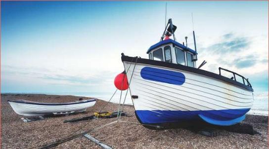 Dungeness merupakan pantai indah di Inggris (Foto: Dok Alamy Stock )