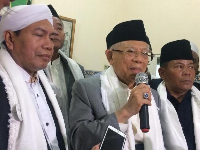 Ma ruf Amin di Ponpes Al-Misbah Jakarta Utara Medcom.id  7bc2362f4a