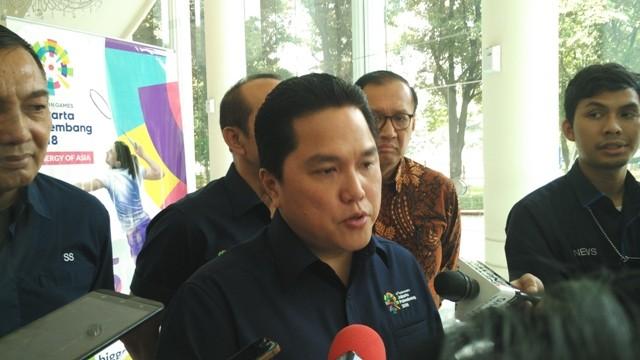 Ketua TKN KIK Erick Thohir/Medcom.id/Dheri Agriesta