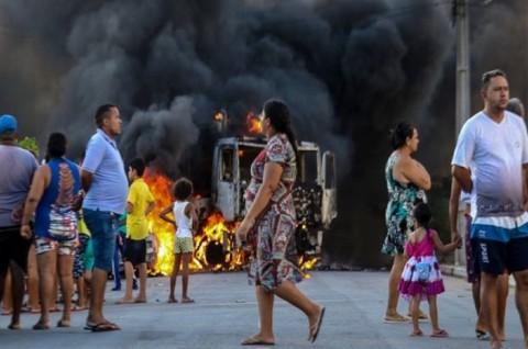 Kekerasan Meningkat di Fortaleza, Brasil Kerahkan Pasukan