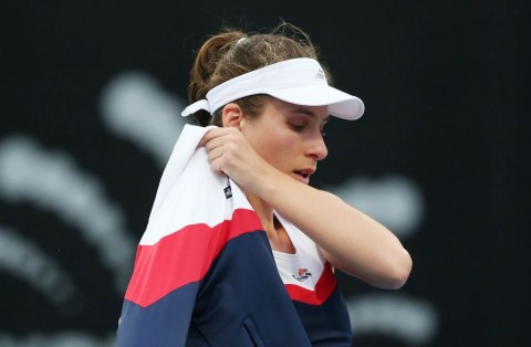 Cedera Leher, Johanna Konta Mundur dari Sydney International