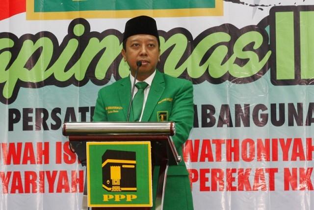 Ketua PPP Romahurmuziy. Foto: MI/Barry