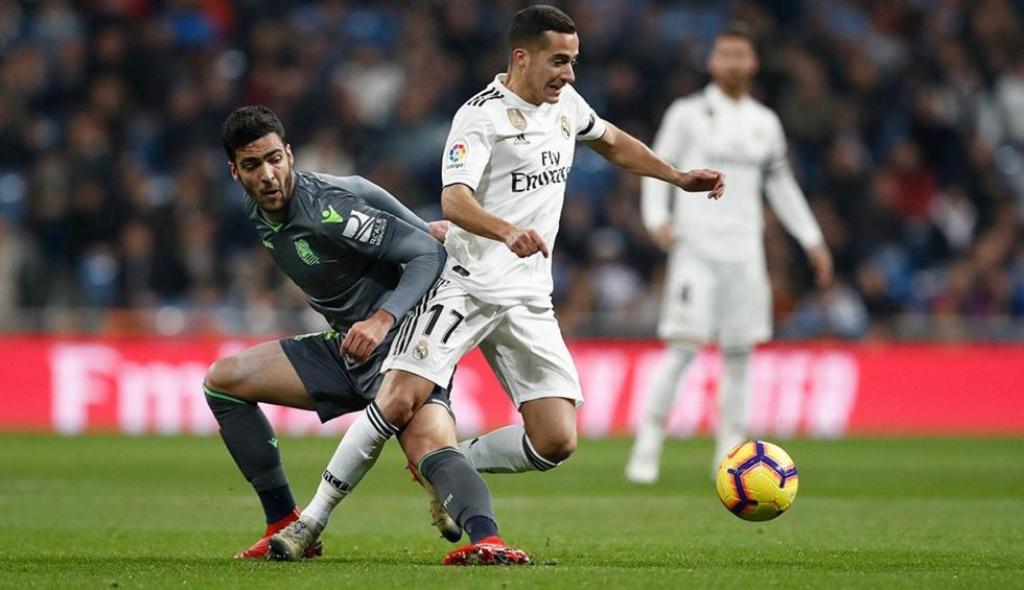 Real Madrid vs Real Sociedad. (Foto: Real Madrid FC)