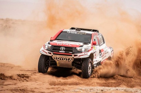 Ubah Air Restrictor, Toyota Gazoo Yakin Menang di Dakar Rally
