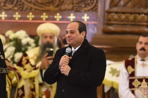 Presiden Mesir Resmikan Gereja usai Serangan Bom