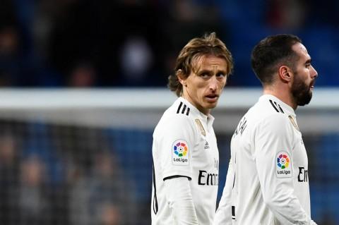 Ditekuk Sociedad, Modric: Banyak Pemain Tidak Bermain Sesuai Level