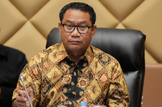Ketua Komisi V DPR Fary Djemy Francis--Dok:DPR