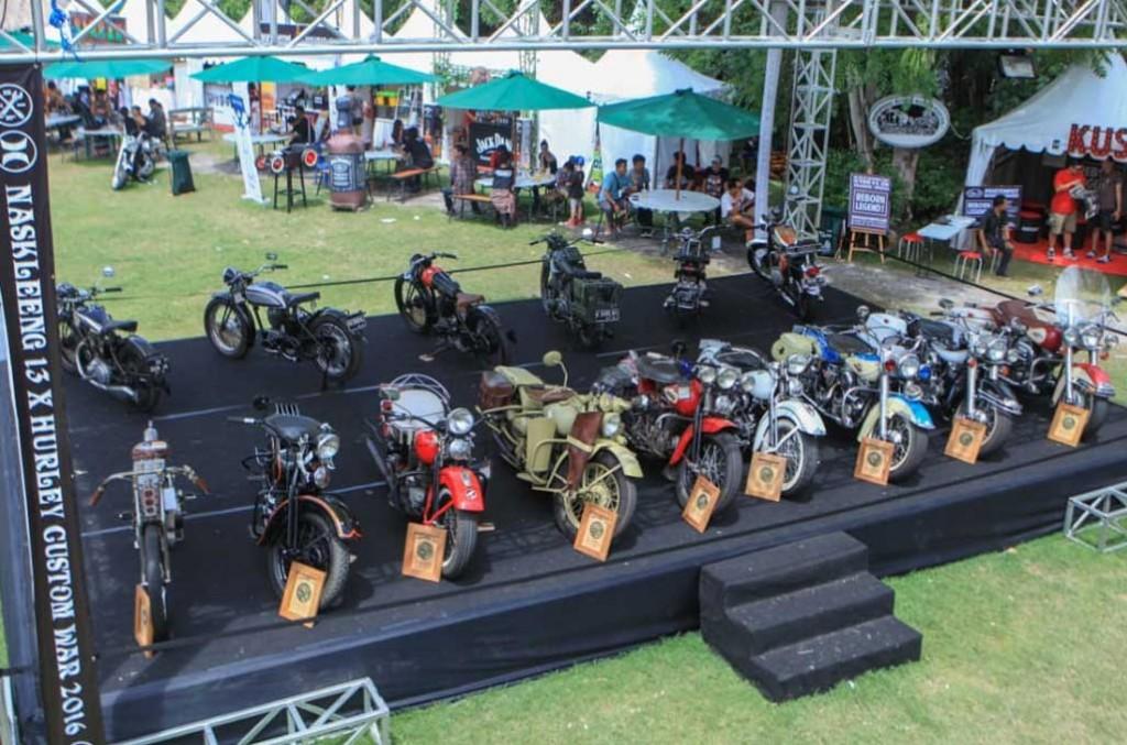 Custom War siap jadi penguat industri custom bike di awal tahun. NK 13
