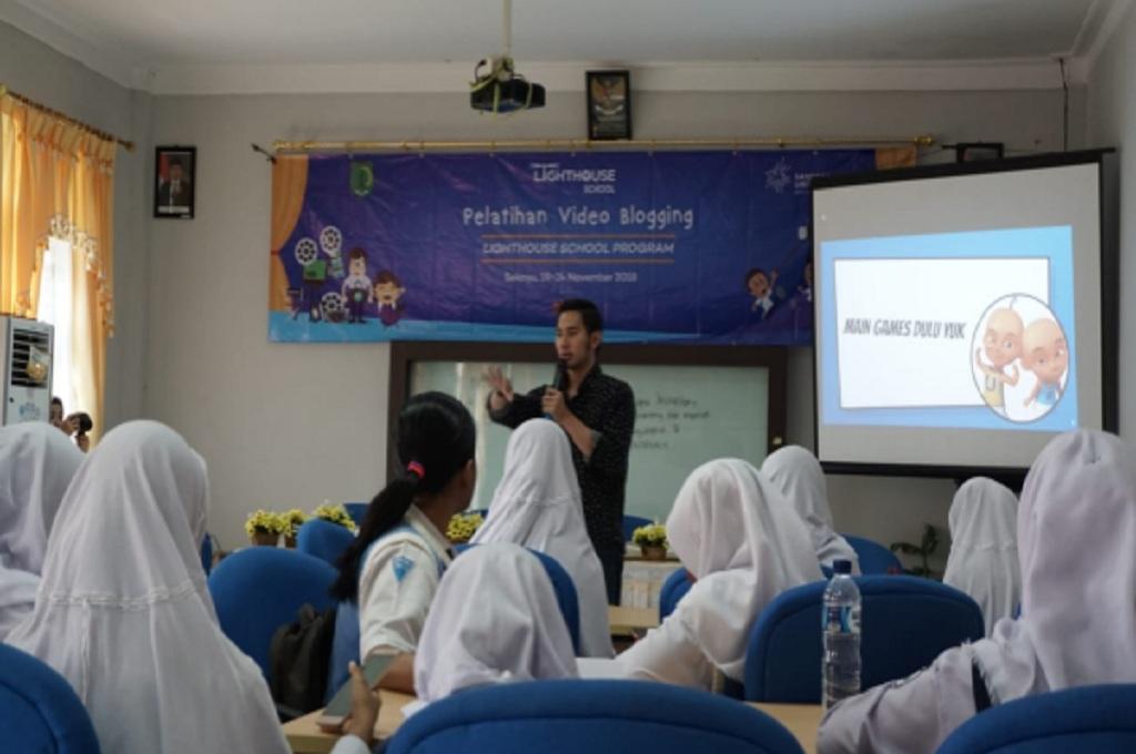 Pelatihan vlog di Musi Banyuasin, dok: istimewa