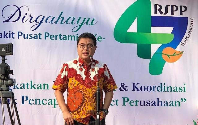 Direktur Utama PT Pertamina Bina Medika (Pertamedika), Dany Amrul Ichdan. Foto: Medcom.id/Theofilus Ifan Sucipto.