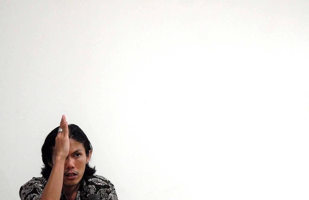 Arief Patramijaya atau terkenal dengan nama Patra M Zen. Foto: Antara/Fanny Octavianus