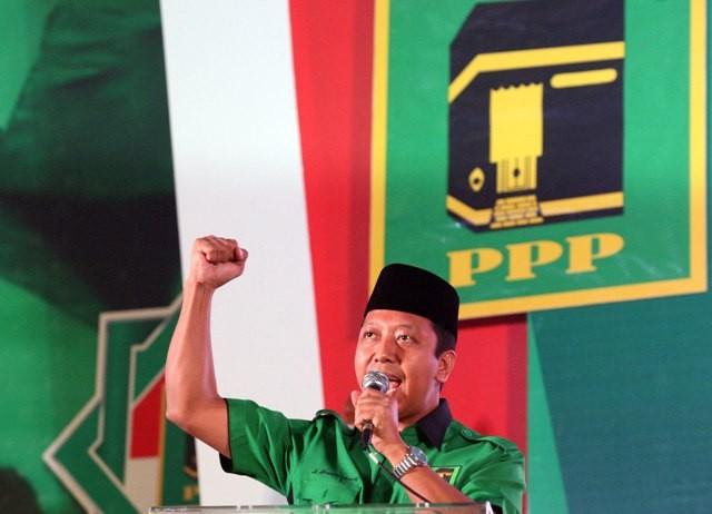 PPP chairman Romahurmuziy (Photo:MI/Adam Dwi)
