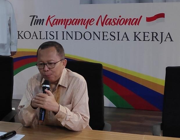 Wakil Ketua Tim Kampanye Nasional (TKN) Joko Widodo-Ma'ruf Amin, Arsul Sani--Medcom.id/M Sholahadhin Azhar.