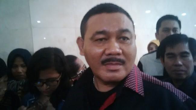 Ketua Fraksi Hanura DPRD DKI Mohamad Ongen Sangaji--Medcom.id/Foto: Wanda