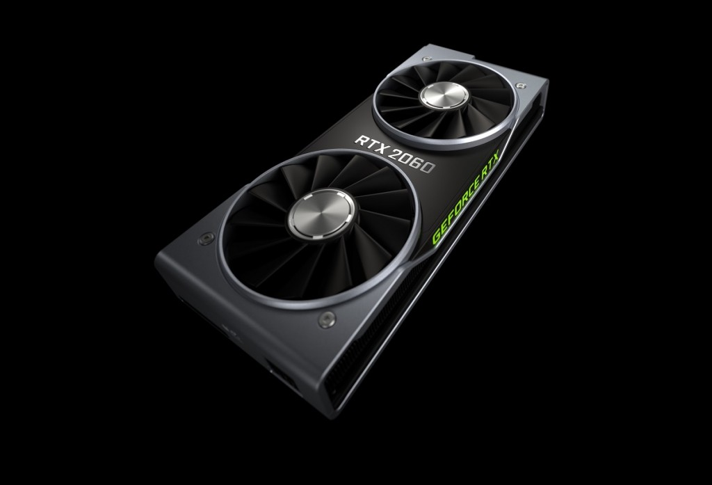 NVIDIA GeForce RTX 2060.