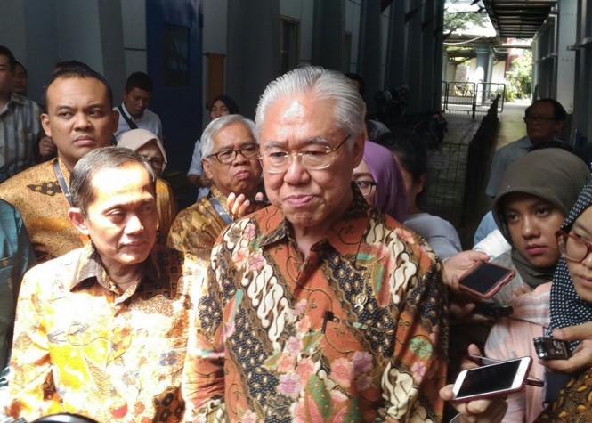 Menteri Perdagangan (Mendag) Enggartiasto Lukita. Medcom/Ilham Wibowo.
