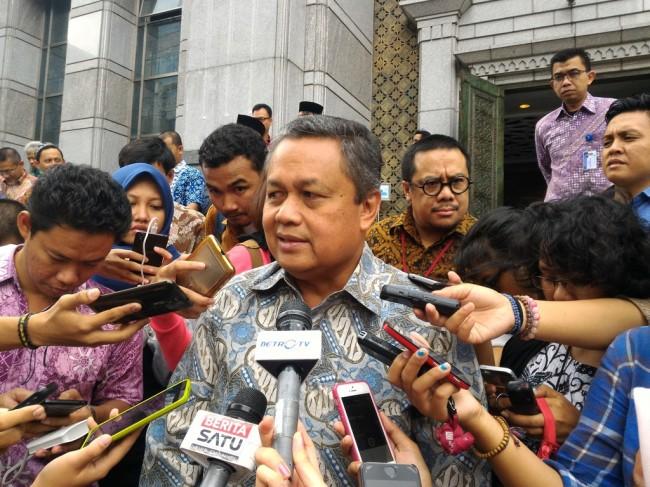 Gubernur Bank Indonesia (BI) Perry Warjiyo. Medcom/Eko Nordiansyah.