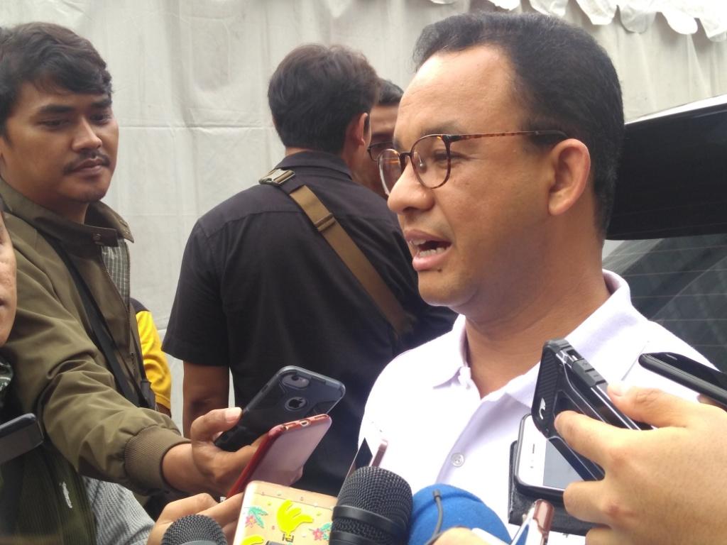 Gubernur DKI Jakarta Anies Baswedan. Foto: Medcom.id/Kautsar Widya Prabowo.