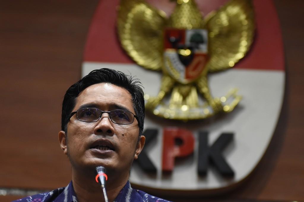 Juru Bicara KPK Febri Diansyah. Foto: Antara/Indrianto Eko